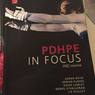 HSC PDHPE in Focus Textbook