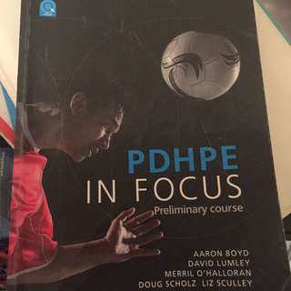 Preliminary PDHPE in Focus Textbook