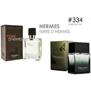 Parfum FM 334 Inspired By Hermes Terre D'hermes