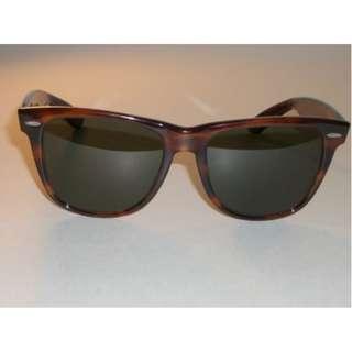 Vintage Ray Ban  L1725 Tortoise Wayfarer Sunglasses