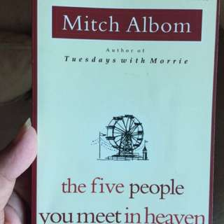 The five people you meet in heaven - mitch alb
