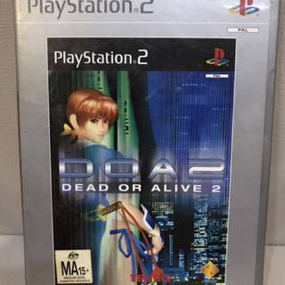 PS2 Game Dead or Alive: 2