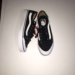 Black ball sf vans size 8