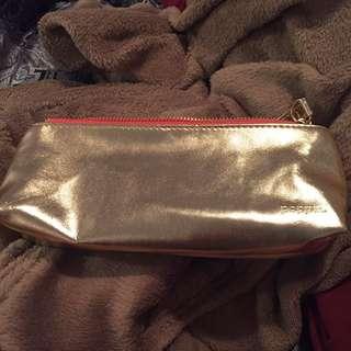 Gold pencil case