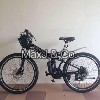 (SALE) Foldable Pedal Assist Bike
