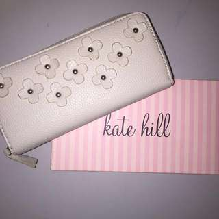Kate Hill Leather Clutch/Wallet