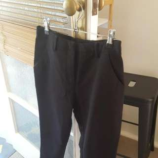 Sportsgirp Black Size 10 Cigarette Pants