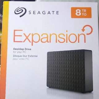 Seagate 8TB Expansion Drive External Hard Disk