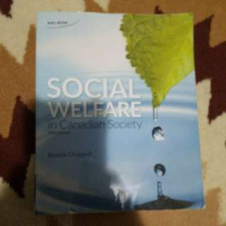 Social Welfare in Canadian Society 5th edition