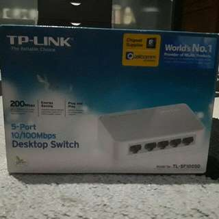 TP Link - 5 Port Desktop Switch