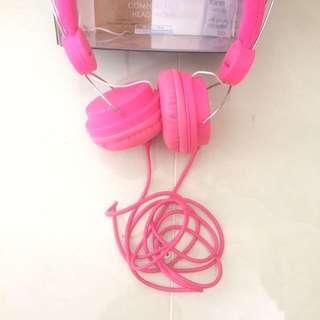 MINISO Headset Pink
