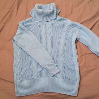 Bianca Nygord Blue Knit Sweater
