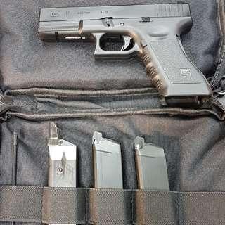 Airsoft Glock17 , gas blowback, full metal