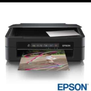 Epson xp225掃描、列印、影印功能印表機