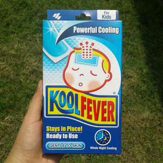 Koolfever cooling pads for kids NEW
