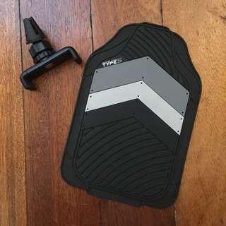 Non Slip Mat & Cellphone Holder