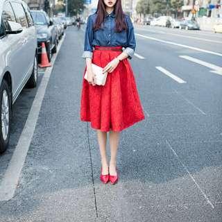 OL A-line Skirt
