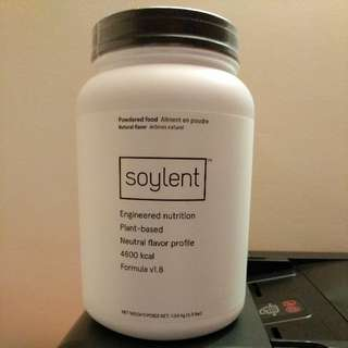 Sealed Opened Soylent
