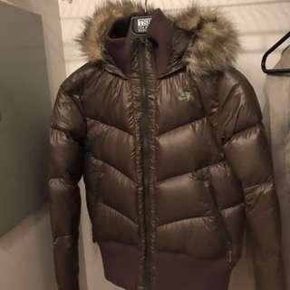 Brand New Nike Women's down filled winter jacket - medium