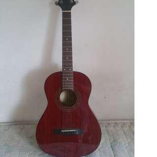 Gregg bennett ST-6 parlour size guitar.
