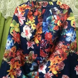 Floral fashion skirt