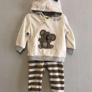 1 set Jaket + celana H&M