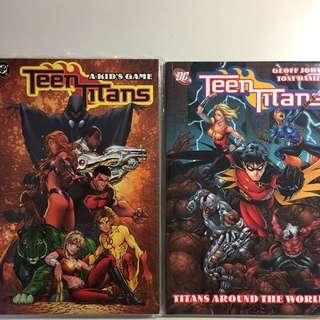 DC' Teen Titans, TPB