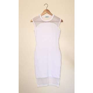 Kookai - White Bodycon Dress