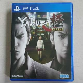Yakuza Kiwami (PS4 Game)