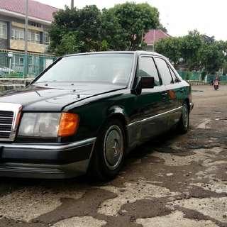 Mercedes benz 300e 1987 manual