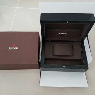 Tudor original watch box