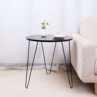Simple Modern Iron Round Side Table