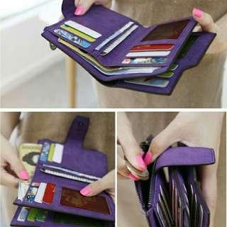 [P. O] leather bid fold wallet