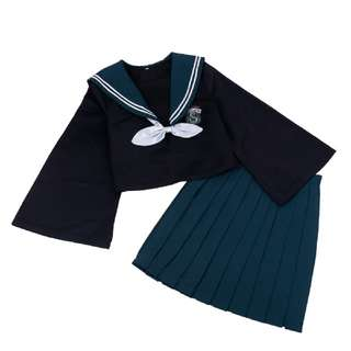 Japanese style Griffindor/Slytherin uniform