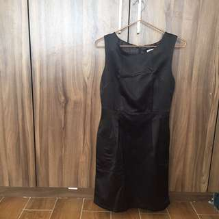 A. Galang little black dress