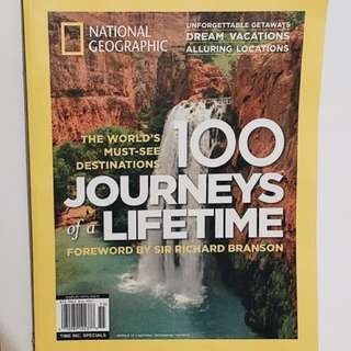 100 Journeys of a Lifetime