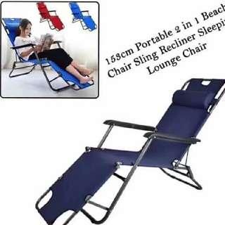 Portable 2 in 1 Beach Chair