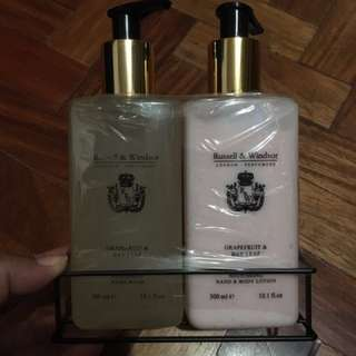 Russell & Windsor (Hand Soap And Lotion)
