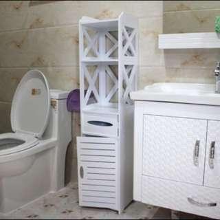 Waterproof Bathroom Side Cabinet Organizer