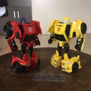 Transformers Titans Return Legends Bumblebee & Roadburn