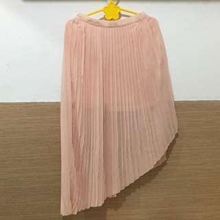 assymetric skirt rok ZARA