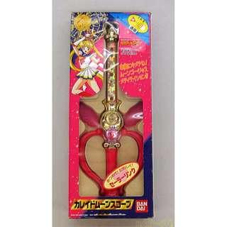 美少女戰士 月亮萬花筒 1995年出品 初版 有盒 聲光正常 攻擊器 變身器 魔法棒