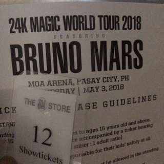 I am Looking for 4 Gen Ad tickets for Bruno Mars Concert. Anyone selling pls?!