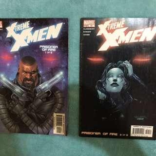 X-treme X-men Comics (Gambit and Rogue)