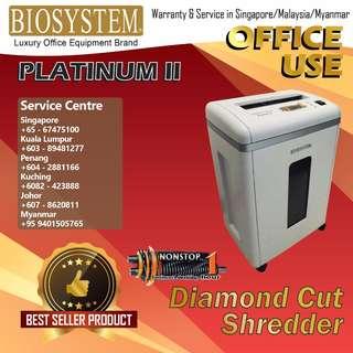 BIOSYSTEM Office Shredder PlatinumⅡ