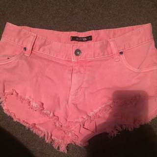 Rusty shorts size 8