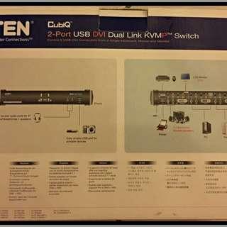 CS1782A ATEN USB DVI 多電腦切換器KVM