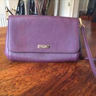 Kate Spade - Purple crossbody Purse