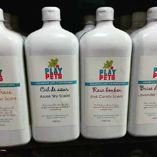 Play Pets Shampoo with Conditioner