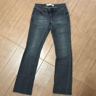 Giordano black/grey jeans
